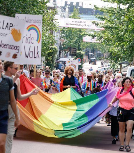 Met regenboogvlag door de stad op Roze Woensdag: de LHBTI-acceptatie ligt onder vuur