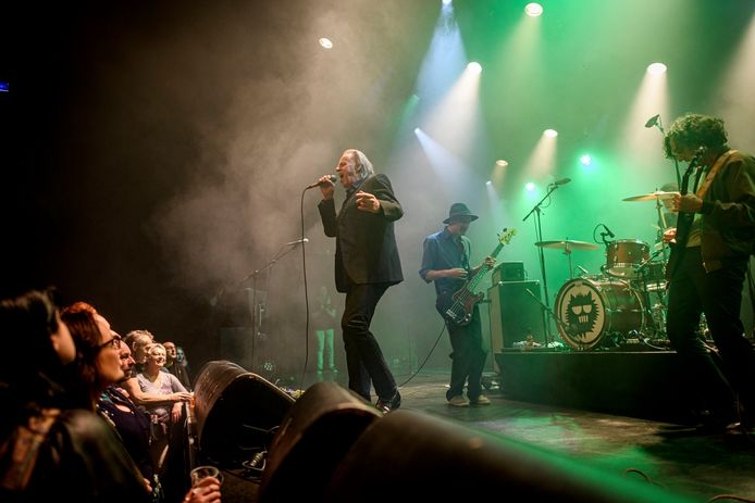 Metropool in andere tijden: afgelopen januari tijdens een optreden van Claw Boys Claw.