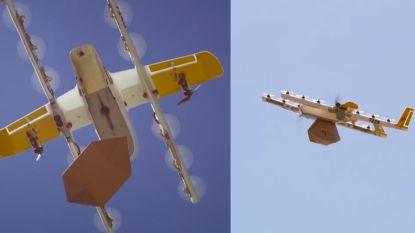 Allereerste 'dronekoeriers' vliegen boven Australië