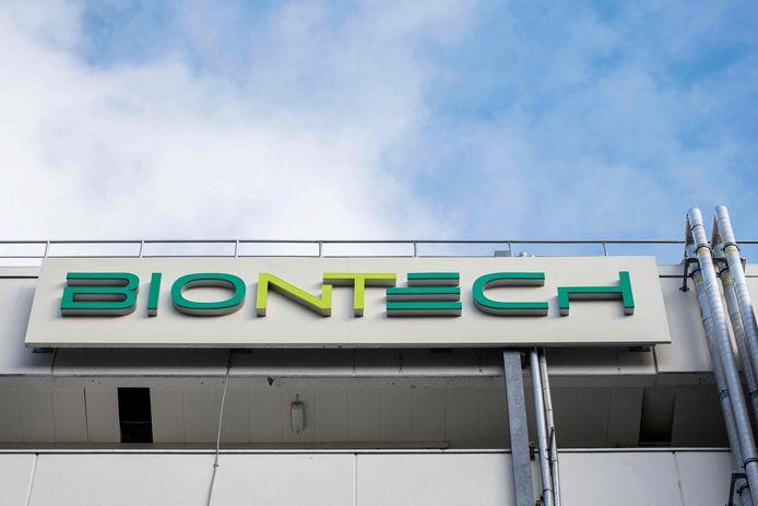 Logo BioNTech