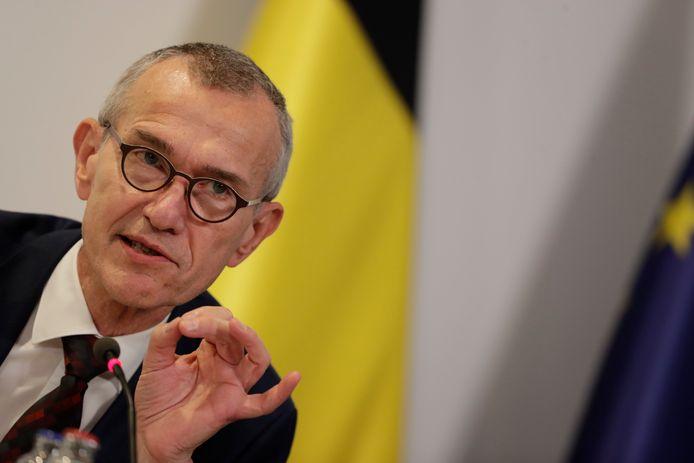 Frank Vandenbroucke, le ministre de la Santé
