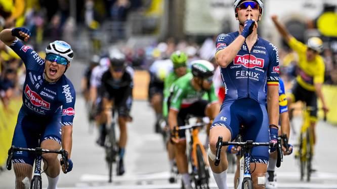 """Alpecin-Fenix gaat weer vol voor ritzeges in Tour: """"Nog te vroeg om te zeggen of het weer met Philipsen én Merlier zal zijn"""""""