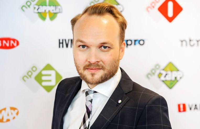 Arjen Lubach, presentator van 'Zondag met Lubach', een Nederlands laatavondprogramma waarin de actualiteit op de korrel genomen wordt.  Beeld ANP Kippa