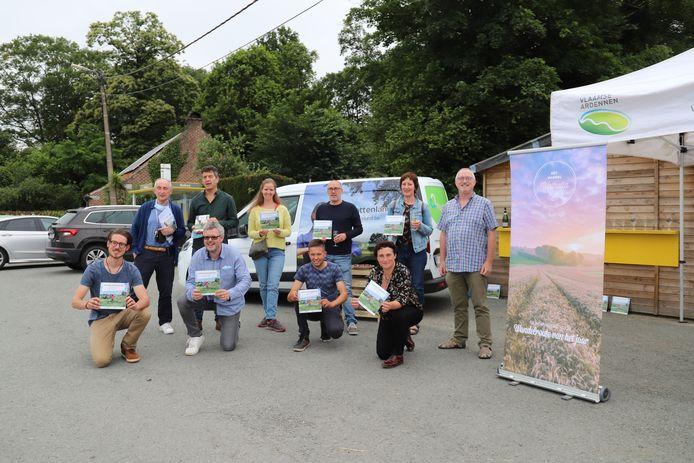 Wandelzesdaagse van 153 kilometer doorheen Pajottenland en Vlaamse Ardennen