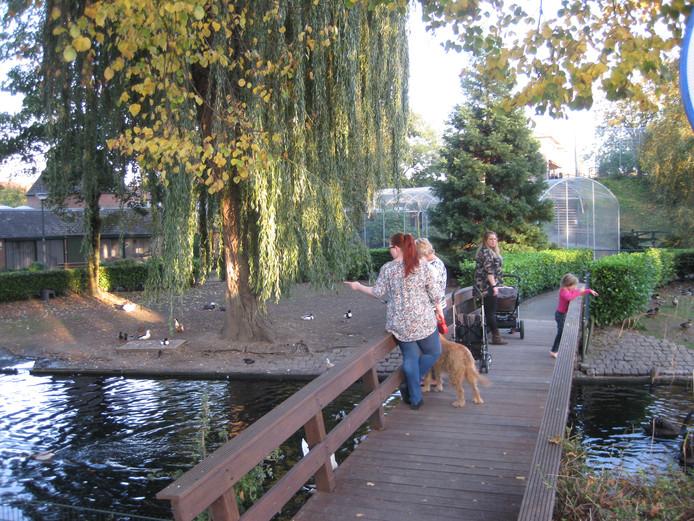 Het Kleindier-Wandelpark aan de Koningin Wilhelminastraat in Hedel.