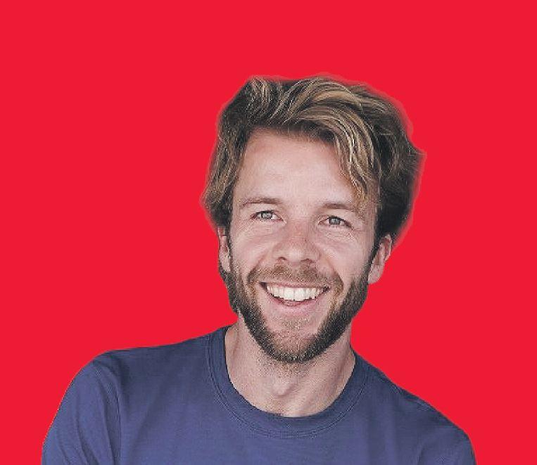 Jan van Hövell, oprichter van sportmerk Klabu. Beeld KLABU
