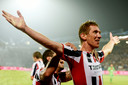 Als speler van Willem II besliste Robert Braber ooit de derby tegen NAC in de slotminuut.