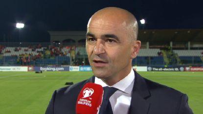 """Roberto Martínez verklaart opstelling: """"Voorin zaak om evenwicht te vinden"""""""