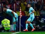 Kopbal Suárez voorkomt eerste nederlaag Barcelona