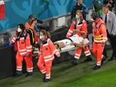 """Spinazzola, blessé au tendon d'Achille contre la Belgique, promet de """"revenir vite"""""""