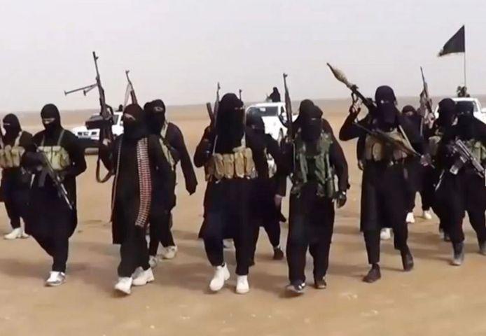 Leden van IS in Syrië. Illustratiefoto.