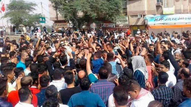 Iraans regime worstelt met de 'opstand der dorstigen'