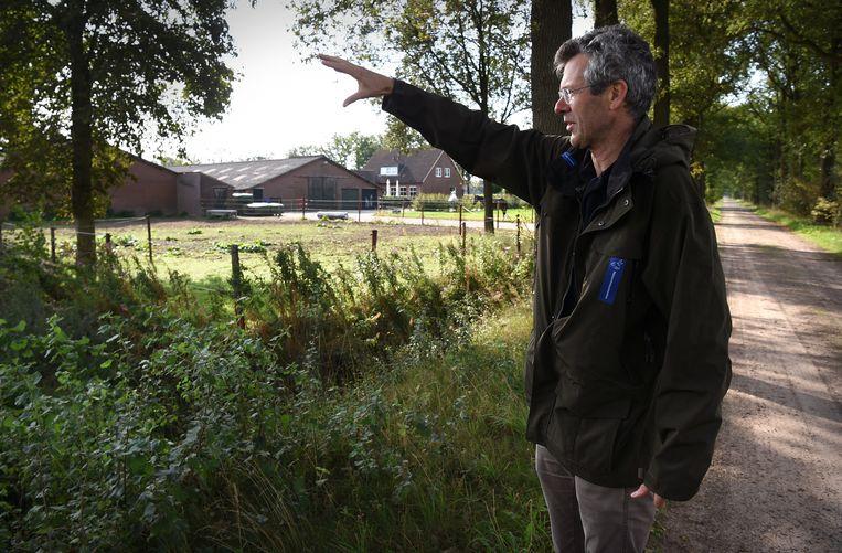 De lang slepende zaak over 'de megastal die niemand wil' was aangespannen door de Brabantse Milieufederatie en Natuurmonumenten. Beeld Marcel van den Bergh / de Volkskrant