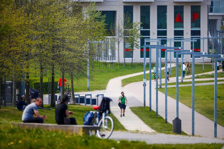 Park Spoor Noord. Beeld Jan De Meuleneir / Photo News