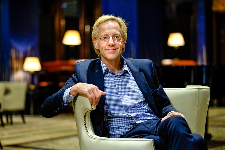 'We hadden een illusie van zekerheid opgebouwd', zegt Robbert Dijkgraaf. 'Die ligt nu aan diggelen.'  Beeld Philip Vanoutrive/ID Photo Agenc