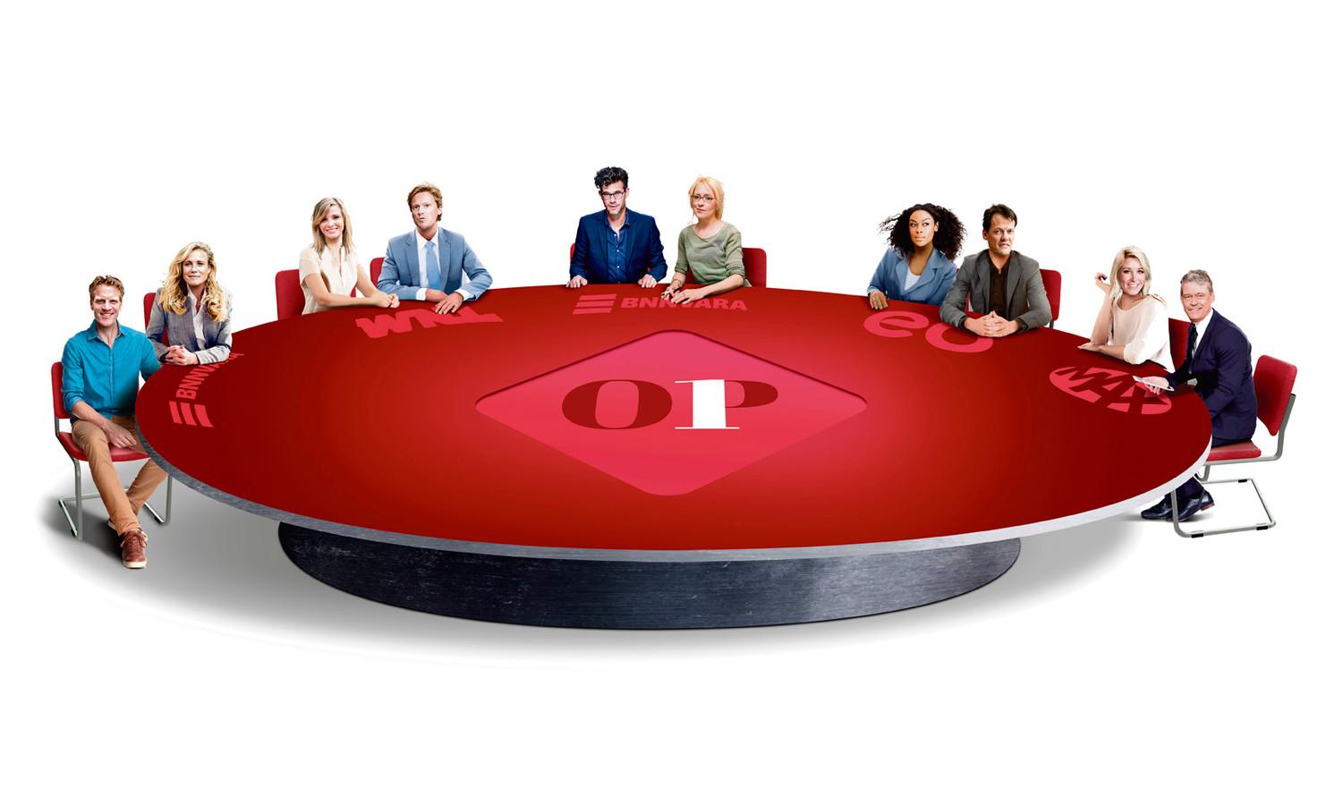 Dit zijn de vijf duo's die het in de dagelijkse talkshow Op1 opnemen tegen Jinek op RTL4.