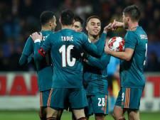 Ajax overleeft hete slotfase bij Telstar en bekert met moeite verder