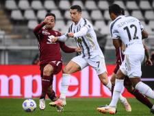 Juventus verspeelt ook punten in derby en moet vrezen voor CL-deelname