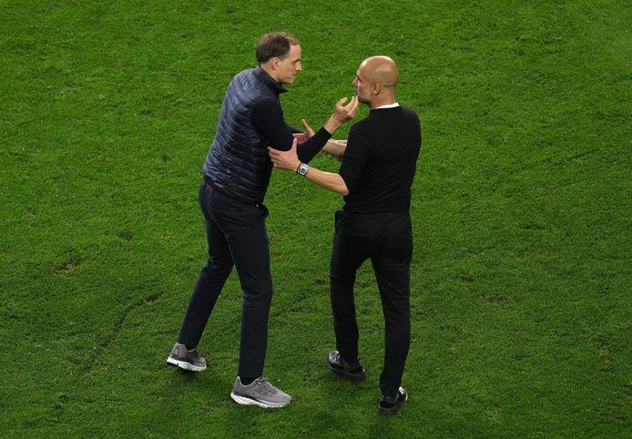 Quatre mois après la victoire de Chelsea contre City en finale de Ligue des Champions, Thomas Tuchel et Pep Guardiola se retrouvent.