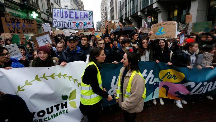 """L'action """"Youth for Climate"""", le 17 janvier à Bruxelles"""