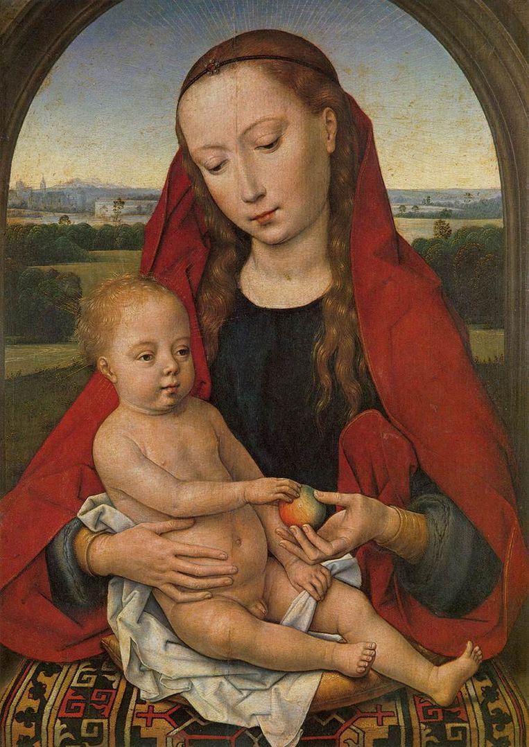 Hans Memling: Maria en Kind, 1485. Beeld Lisbona, Museu Nacional de Arte