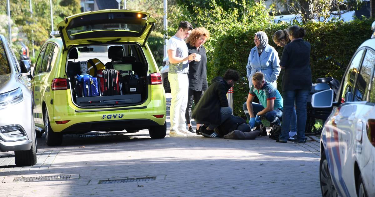 Vrouw gewond bij aanrijding met verboden elektrische step.