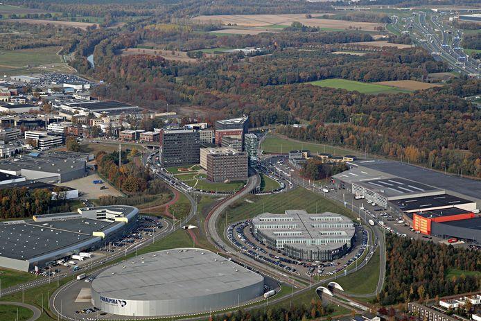 Flight Forum, vanuit de lucht gezien. archieffoto Ronald Otter