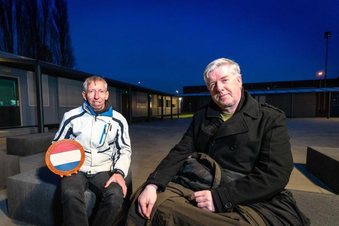 Frank Evers en Roel Eefting uit Elst willen dat het museum dat aan hun opa's herinnert behouden blijft.