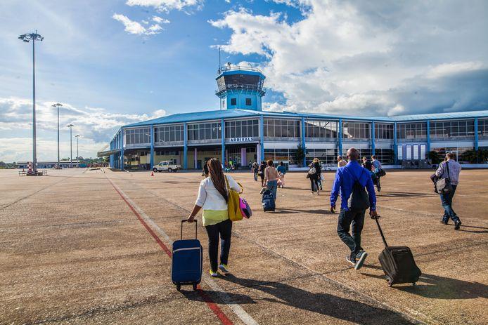 Luchthaven Johan Adolf Pengel International Airport in Suriname, Zanderij