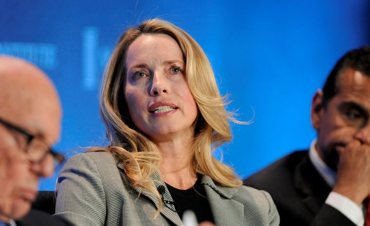 Laurene Powell Jobs. Beeld Reuters
