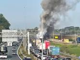 A15 richting Rotterdam nacht dicht voor herstel: omleidingen via A2, A59 en A27