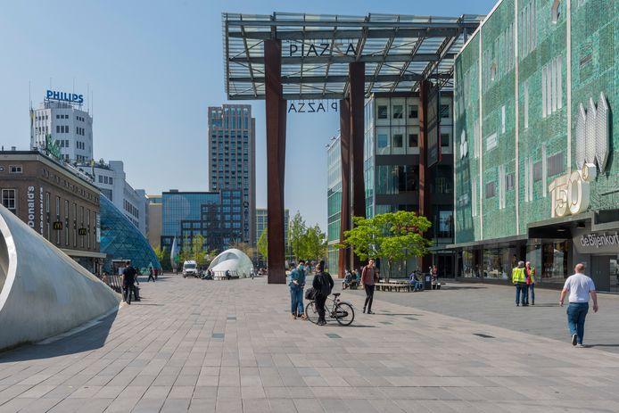 De industrie had grote invloed op het stedenlandschap, in het bijzonder in Eindhoven.
