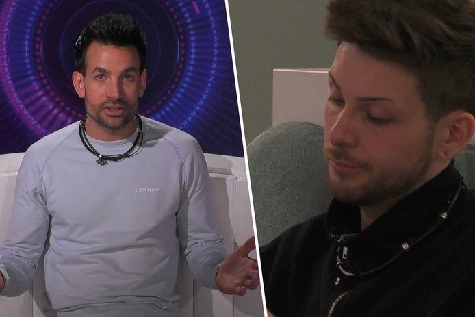 Michel en Jerrel clashen zwaar in 'Big Brother'.