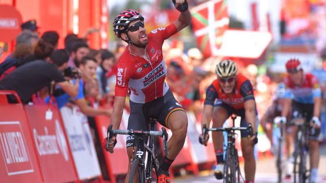 De Gendt veertiende Belg die rit wint in drie grote wielerrondes