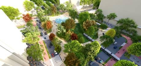 De ontwerper legt uit waarom het nieuwe, groene Hofplein een voetgangerswalhalla moet worden