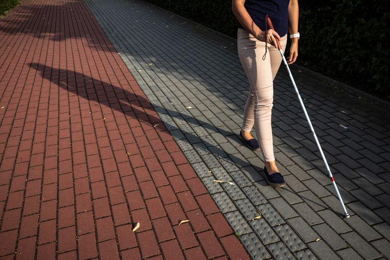 """Blinde Corine (55) is probleem in Apeldoorn zat: """"Dit is heel gevaarlijk voor mij"""" Beeld Getty Images/iStockphoto"""
