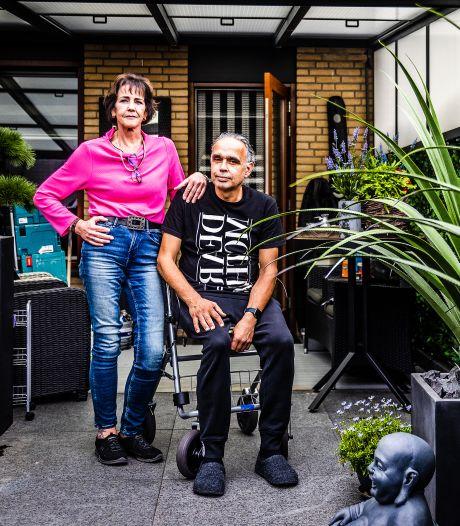 Irma wil haar man Cock na de diagnose ALS thuis verzorgen: 'Ik moet hem gewoon hier hebben'