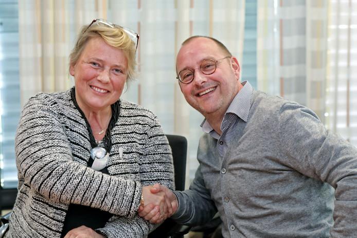 Annette Stinenbosch neemt tijdelijk het onderdeel 'vrije tijd' over van Arjan van der Weegen.