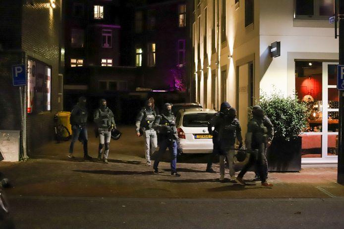 Het arrestatieteam in Nijmegen