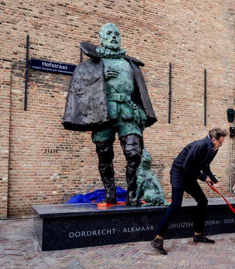 Nog steeds geen Oudewater op de sokkel van het beeld van Willem van Oranje