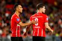 Eran Zahavi en Marco van Ginkel, momenteel twee bepalende PSV'ers.