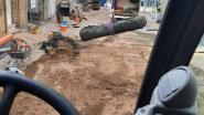 Wegenwerkers stoten op vier mortieren tijdens graafwerken in centrum Diksmuide