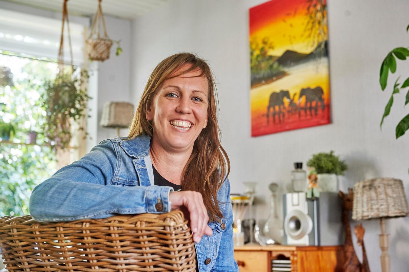 Melissa Kreps is even terug in Geffen. Ze heeft een eigen opvanghuis voor straatjongens in Kenia.