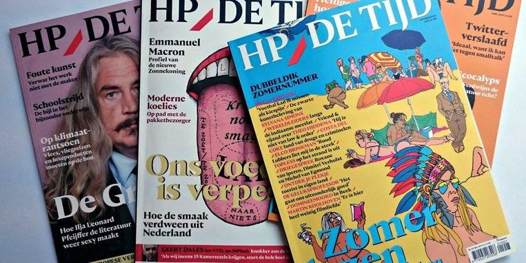 Het zomernummer van van het blad zou traditioneel goed verkopen. Beeld HP/De Tijd