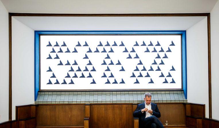 De ontdekking van Mondriaan in Gemeentemuseum.  Beeld ANP