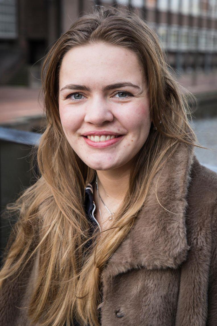 Audrey Hendrix (19) Beeld Dingena Mol