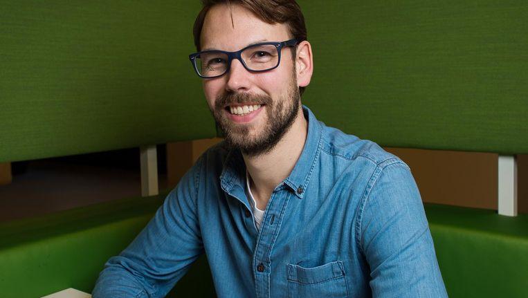 Onderzoeker Sjoerd Stolwijk Beeld Mats van Soolingen