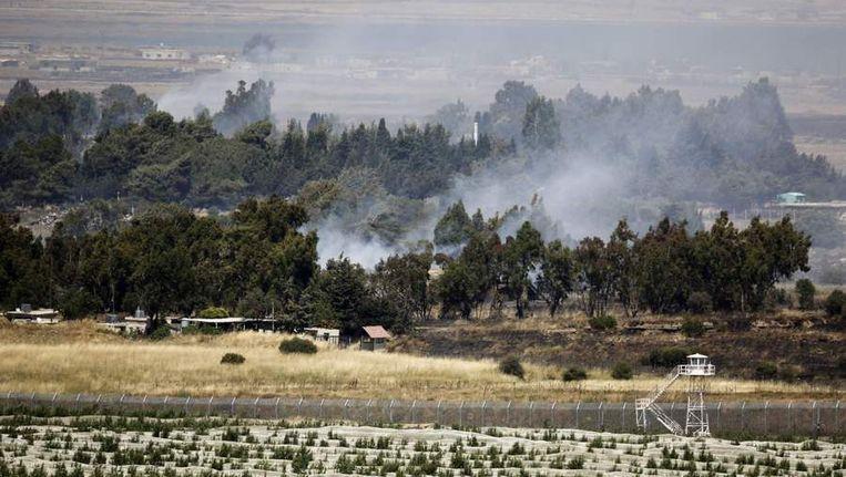 De Golanhoogten. Beeld reuters