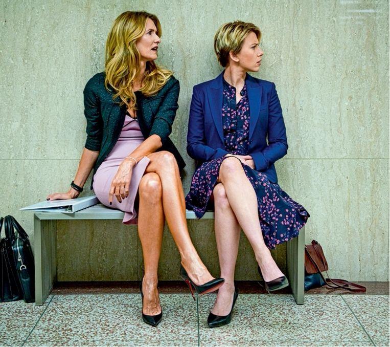 Laura Dern & Scarlett Johansson (Marriage Story) Beeld