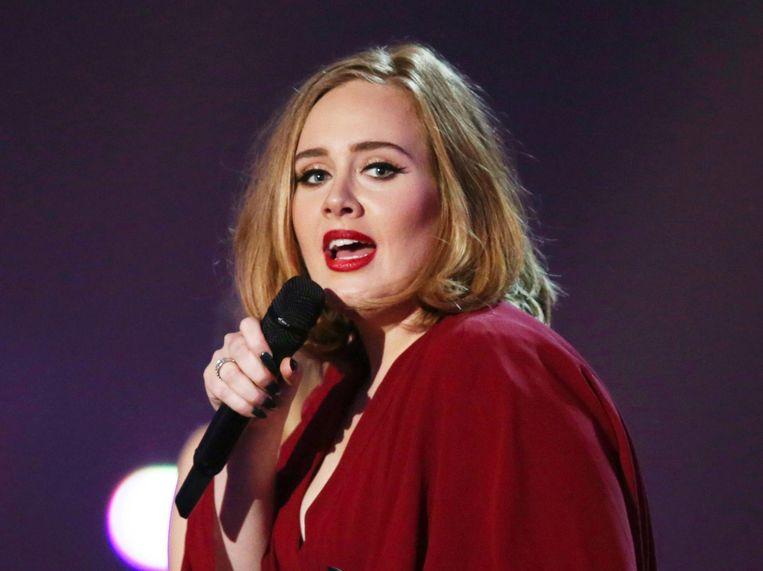 De kaartjes voor het optreden van Adele waren razendsnel uitverkocht. De verkochte kaartjes werden vervolgens voor veel geld doorverkocht. Beeld AP